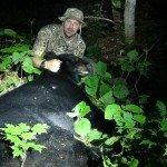 Maine Bear Hunt, Allagash Guide Service 2014