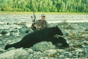 Bear Hunting in Maine - Bow Kill - 365 lbs