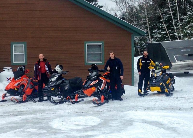 Northern Maine Snowmobiling