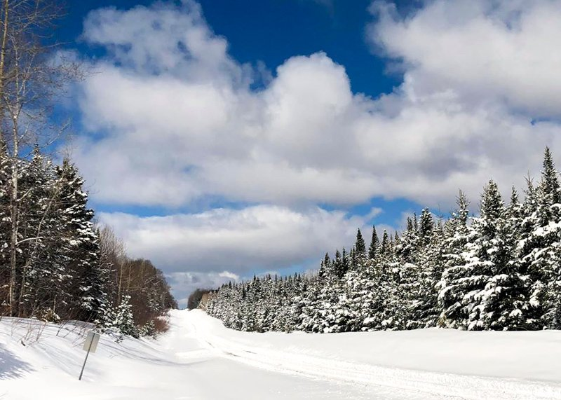 North Maine Woods Snowmobiling